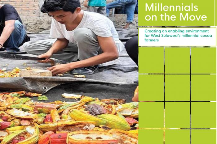 Creating an enabling environment for West Sulawesi's millennial cocoa farmers