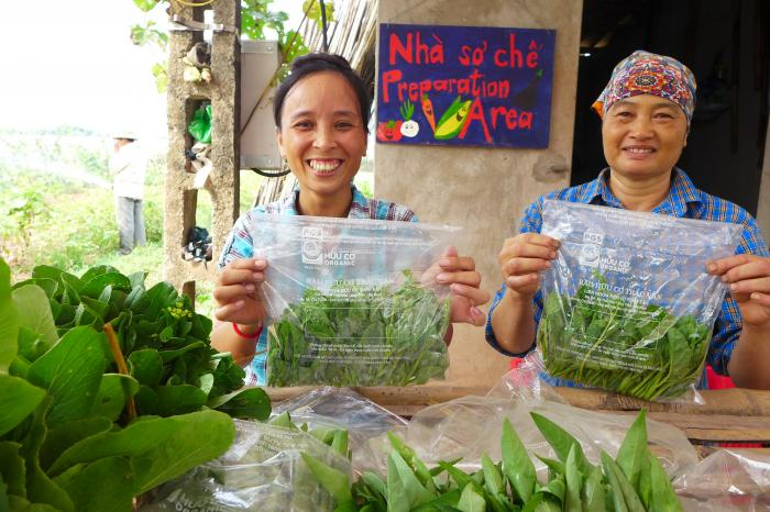 Participatory Guarantee Systems for safe vegetables in Vietnam